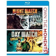 Day Watch/Night Watch (Blu-ray Disc, 2012, Unrated/Night Watch Unrated)