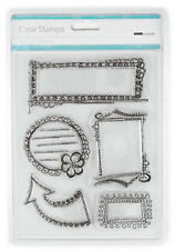 DOODLED FRAMES - KAISERCRAFT - CLEAR STAMP SET