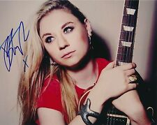 Joanne Shaw Taylor signed 10x8 color photo