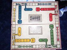 Sorry card / board game circa 1930