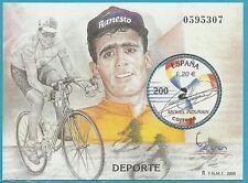 Spanien aus 2000 ** postfrisch Block 90 MiNr.3593 - Miquel Indurain, Radfahrer!