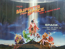 Jim Hensons MUPPETS IN SPACE(1999)Original rolled UK  movie poster
