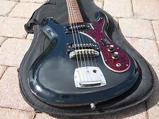 Vintage '60s Univox Hi Flyer Custom, Black, Phase 1, Great Overall Condition!!