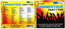 10 Jahre Sommertour Party Pur-NDR1 Welle Nord -2CD NEU Ohne Folie!