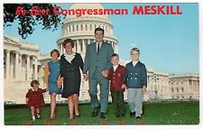 THOMAS TOM MESKILL Congress CONGRESSMAN Political PC Postcard CONNECTICUT CT