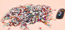 2000x Nail Art Mixed Shape Rhinestones Acrylic Decoration Flat back Gems beads X