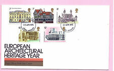 Post Office 1975 FDC - EUROPEAN ARCHITECTURAL YEAR - Fdi ENFIELD