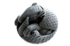 Gray Brazilian Three-Banded Armadillo Soap - Handmade Animal Soap Ball