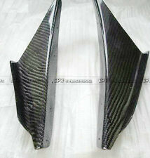 Pop 2PCS Front Bumper Canard JDM Carbon Fiber For Mitsubishi Evolution EVO 8