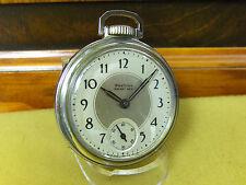 SERVICED 16S WESTCLOX POCKET BEN DOLLAR POCKET WATCH   1938