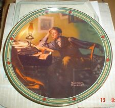 Knowles American Fine China A YOUNG MAN'S DREAM Norman Rockwell Boxed