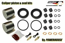 Kawasaki KZ 1000 D1 Z1R 1978 front brake caliper piston & seal repair kit 78