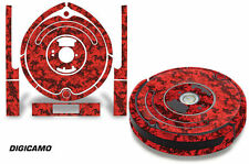 Skin Decal Wrap For iRobot Roomba 650/655 Vacuum Stickers Accessory Kit DIGICAMO