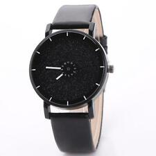 Unisex Casual Watches Men's Women's Leather Candy colored Frosted Quartz Wrist N
