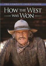 How The West Was Won: The Complete Third Season DVD, free shipping