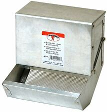 Little Giant5 inch Galvanized Rabbit Feeder AF5SL, New, Free Shipping