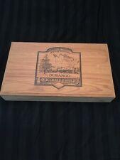 VTG Rocky Mountain Chocolate Factory DURANGO Wooden Box
