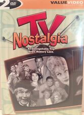 TV NOSTALGIA - NEW DVD