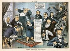 SICK POLITICIANS FEVER CURED NEW DOCTRINE OF HONEST GOVERNMENT GROVER CLEVELAND