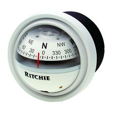 "Ritchie V-57W.2 Explorer Marine Boat Compass Dash Mount 2 3/4"" Dial 12v Lighted"