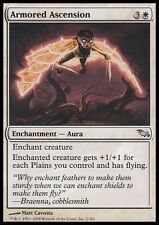 2x ASCENSIONE CORAZZATA - ARMORED ASCENSION Magic SHM Mint