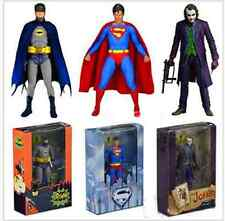 3x7'' NECA DC Dark Knight The Joker Batman Superman Action Figure Toy Gift Boxed