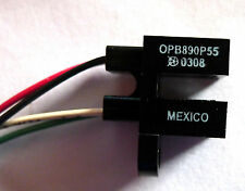 Lot of 4 Optek OPB890P55 Slotted Optical Switch Transistor Output NEW
