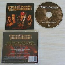 RARE CD ALBUM BOF PIRATES OF THE CARIBBEAN MUSIQUE DE FILM KLAUS BADELT