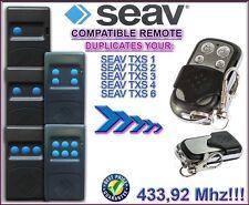 SEAV TXS1, SEAV TXS2, TXS3, TXS4 ,TXS6 Compatible remote control / clone