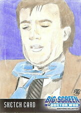 Dr Doctor Who Big Screen Additions Sketch Card by Don Pedicini /5