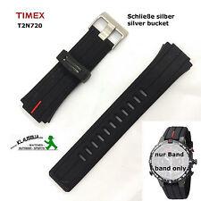 Timex braccialetto di ricambio t2n720-Fibbia Argento-Orologio di Ricambio Originale E-Tide & Temp