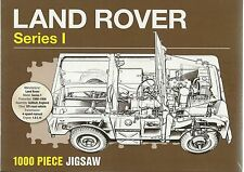 LAND ROVER (LANDROVER) SERIES I - 1000 PIECE JIGSAW PUZZLE ( 4x4 4WD ) Sealed