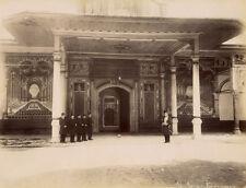 Photo Abdullah Frères Albuminé Palais Ak Agalar Kapottssou Turquie 1880
