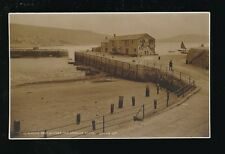 Dorset LYME REGIS Part of Cobb + Granny's Teeth c1920/30s? RP PPC