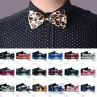 Men Wedding Bowtie Necktie Bow Tie Novelty Tuxedo Classic Fashion Adjustable tie