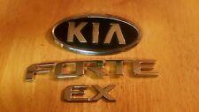 10 11 12 13 KIA FORTE EX REAR LID EMBLEM SET STK# K5