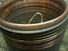 """Barometer BEZEL 7 1/8"""" O/D 181mm Copper Spun Aneriod parts spares old clock"""