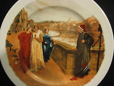 "H. Holliday Walker Art Gallery-Liverpool Plate, 10 3/4"" Dia (Very Rare)"