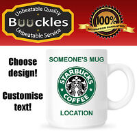Starbucks Costa Mug Gift Idea Christmas Birthday Personalised Present Cup Cool