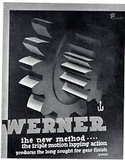 KURT MILES  Photographische Inserate WERNER* Werbegraphik * Advertising Art 1938