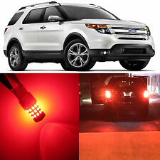 Alla Lighting Brake Tail Lights Red LED Bulbs for 91~10 Ford Explorer Sport Trac