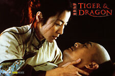Tiger & Dragon original lobby card Michelle Yeoh Chow Yun Fat embracing