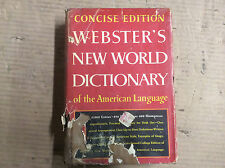 Webster's New World Dictionary of the American Language, Concise Edition 1968