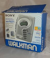 Sony, Walkman WM-FX271 [ Radio FM/AM Cassette Player ] Colour: Silver
