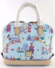 2017 Epcot Flower Garden Festival Figment Dooney & Bourke Satchel Disney Handbag