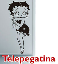 VINILO DECORATIVO PARA PARED BETTY BOOP 140X60 PEGATINA WALL STICKER
