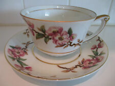 Lovely Narumi CUP & SAUCER CHERRY BLOSSOM Pink CHINA JAPAN #5013