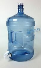 5 Gallon Polycarbonate Reusable Water Bottle with Spigot / Faucet (Made in USA)