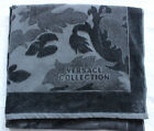 RARE New Gianni Versace Collection Large Beach Pool Bath Towel Gray 70x40 in