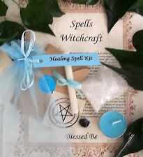 Health and Healing Spell Kit  Votive Candle and Bath Magic Wicca